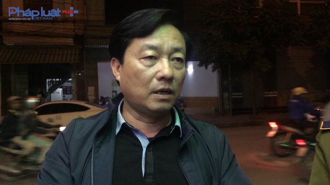 Ông Đào Văn Long - Chi Cục Phó chi cục Quản lý thị trường TP Hải Phòng