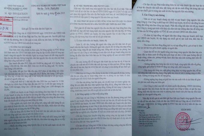 Văn bản số 467/SNN-QLKTKHCN ngày 1/3/2018 của Sở NN-PTN tỉnh Nghệ An.