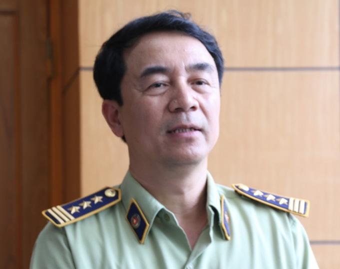 Ông Trần Hùng, Phó Cục trưởng Cục Quản lý Thị trường.
