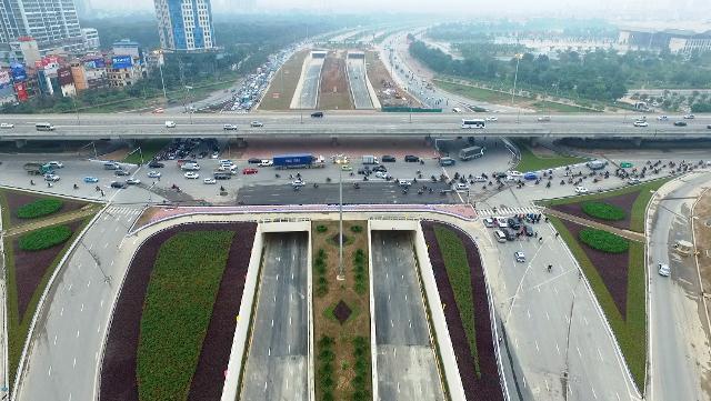 Phía Tây Hà Nội yếu tố hạ tầng phát triển nhanh chóng..