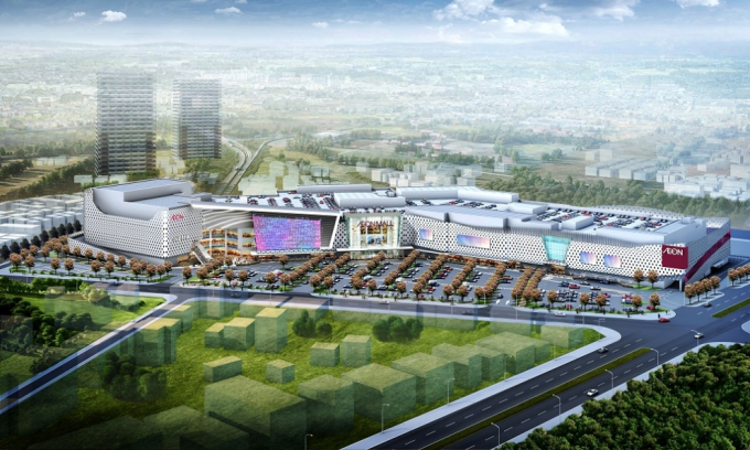 An Phú Shop-villa cách vị trí xây dựng đại siêu thị AEON Mall Nhật Bản 500m.