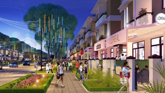 Sở hữu mặt đường 27m, gia chủ dễ dàng vừa kinh doanh sinh lời vừa thuận tiện sinh hoạt với An Phú Shop-villa.