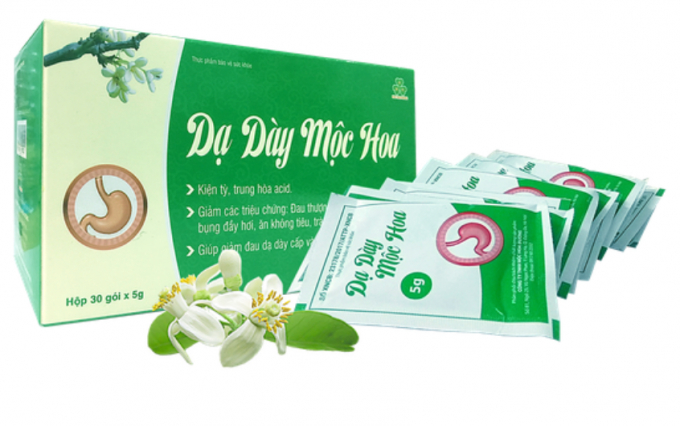 Công ty sản xuất khẳng định không quảng cáo Dạ dày Mộc Hoa trên website http://chuyengiadaday.com. Ảnh: Dân Trí
