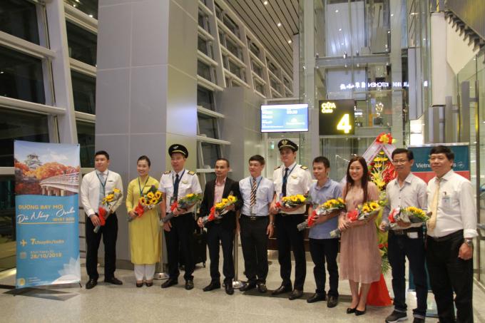 Đường bay mới từ Đà Nẵng -Osaka (Nhật Bản) được chính thức khai trương.