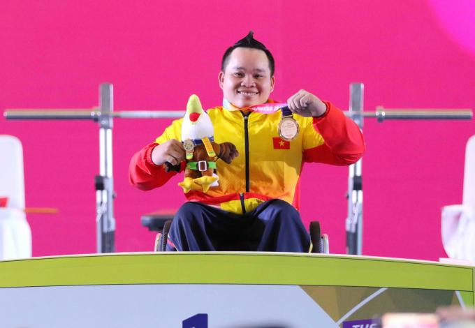 Lực sỹ Nguyễn Bình An