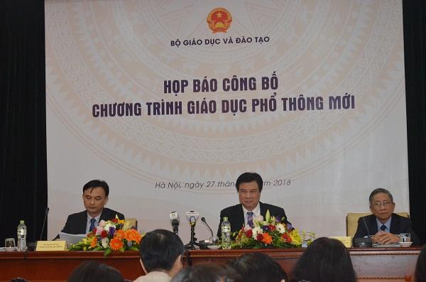 Thứ trưởng Nguyễn Hữu Độ chủ trì buổi họp báo chiều nay