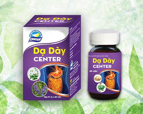Thực phẩm bảo vệ sức khỏe Dạ Dày Center (ảnh internet)