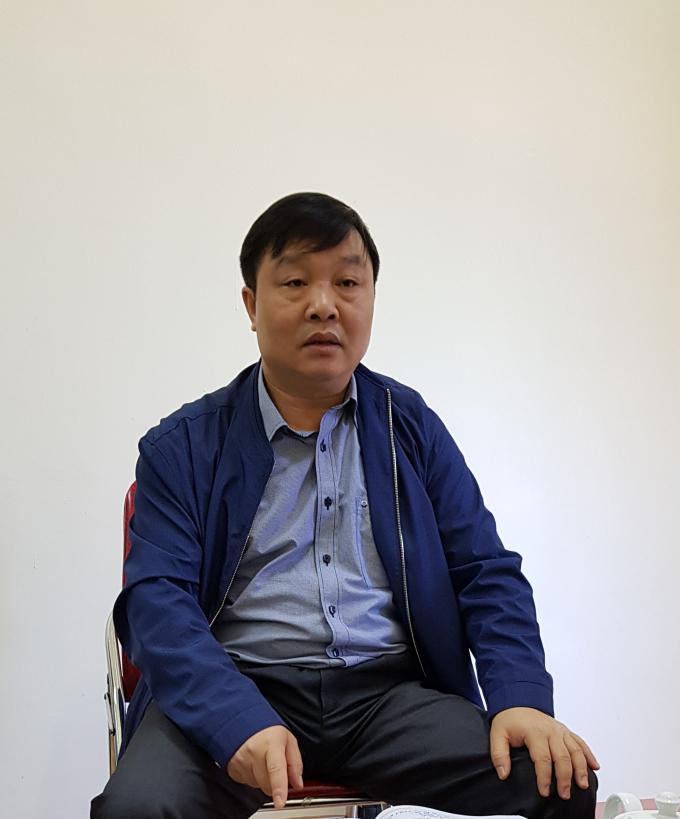 ông Bùi Hải Bình, Phó chủ tịch UBND huyện Điện Biên