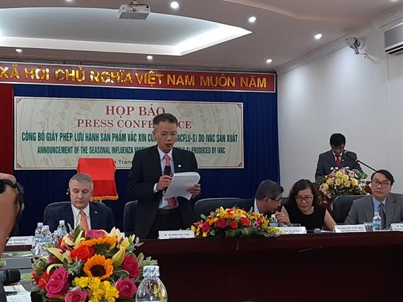 Lễ công bố lưu hành vắc xin IVACFLU-S do IVAC sản xuất