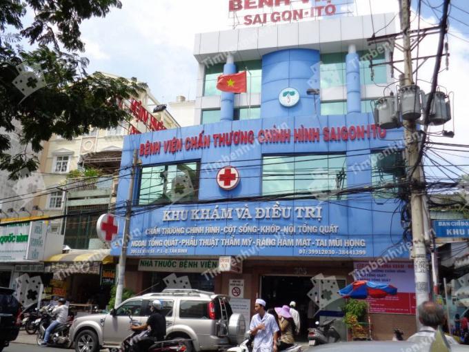 Bệnh viện tư nhân SAIGON ITO - ảnh timbenhvien.vn