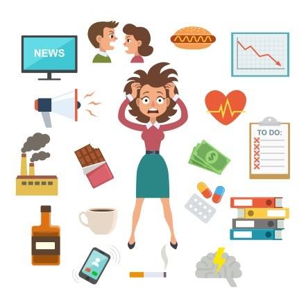 Những người có nhân cách vững mạnh thì dù stress bao nhiêu cũng khó gây bệnh và ngược lại. Ảnh minh hoạ: Internet.