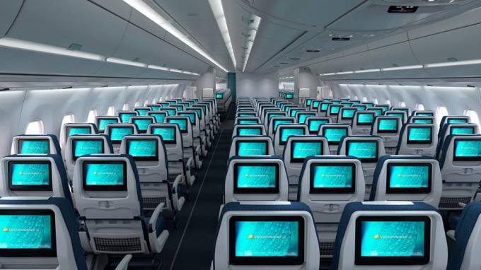 Hai dòng máy bay có sức chứa lên tới 300 khách với không gian rộng rãi và thiết kế hiện đại