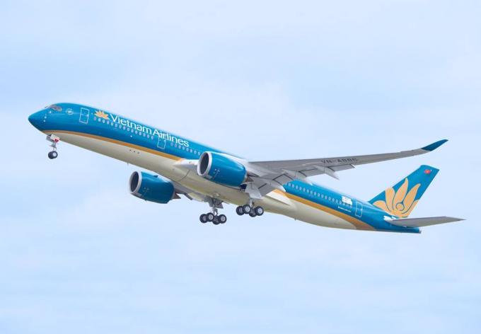 Hình ảnh máy bay Airbus A350