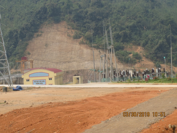 Dự án thủy điện Nậm Púa đã đi vào hoạt động từ lâu.