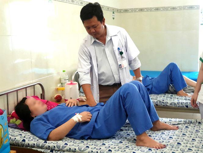 Sau khi được can thiệp bệnh nhân đã bình phục sức khỏe