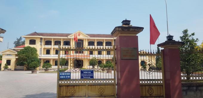 Trụ sở UBND huyện Phú Vang.