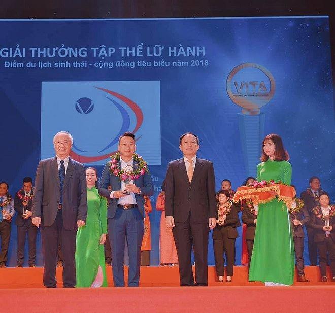 """""""Khu du lịch Happy Land Mộc Châu của CEO Nguyễn Mạnh Hùng được vinh danh là khu du lịch sinh thái đón nhiều khách nhất 2018 tại VITM 2019""""."""