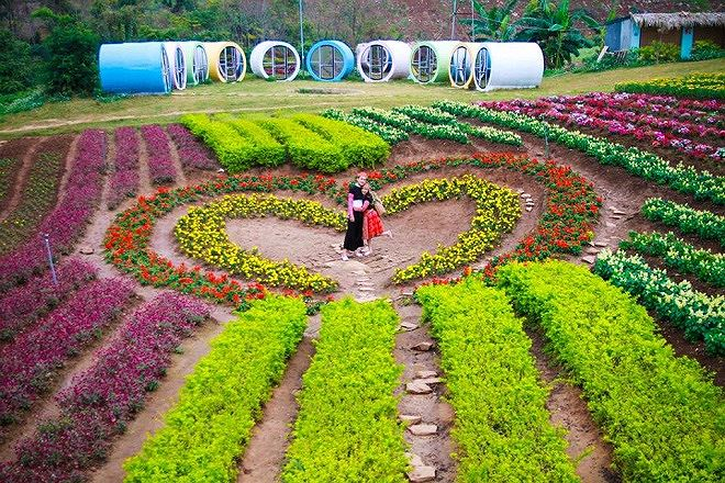 Happy Land có thể thu hút khách du lịch cả bốn mùa.