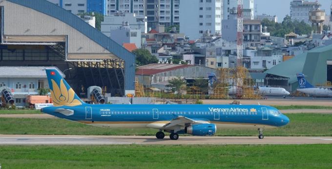 Vietnam Airlines Group (Vietnam Airlines, Jetstar Pacific, VASCO) đang cung ứng tổng cộng 4 chuyến bay mỗi ngày, tương đương 28 chuyến bay/tuần. Ảnh: Vietnam Airlines cung cấp.