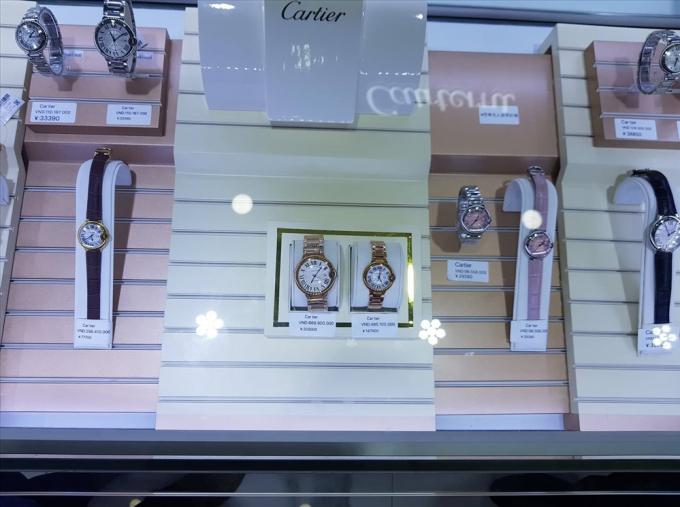 Đồng hồ Patek Phillipe được chuyên gia thẩm định là hàng giảcó giá niêm yết 400 triệu đồng. (Nguồn: Bộ Công Thương)