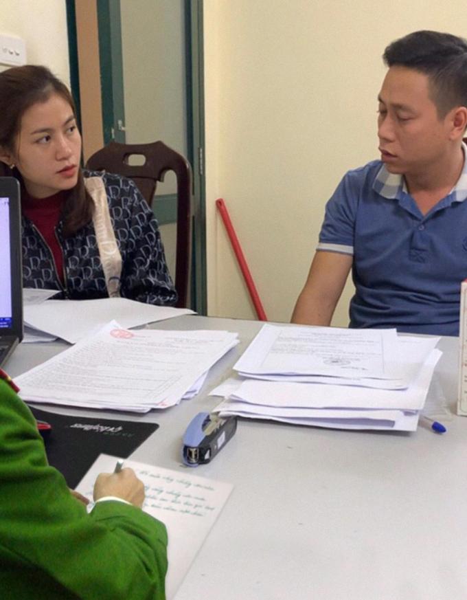 Ông Phạm Tiến Mậu là chủ và vợ là Nguyễn Thị Dung đứng ra phân phối các sản phẩm của Công ty Thảo dược An Khánh Tâm
