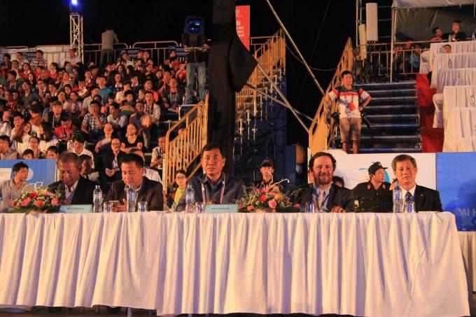 Lễ Bế mạc có sự tham dự của nhiều lãnh đạo đầu nghành cùng nhiều quan khách, đại biểu. Ảnh Vân Trương