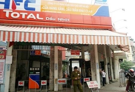 Cửa hàng xăng dầu 436 Trần Khát Chân, quận Hai Bà Trưng, TP Hà Nôi.