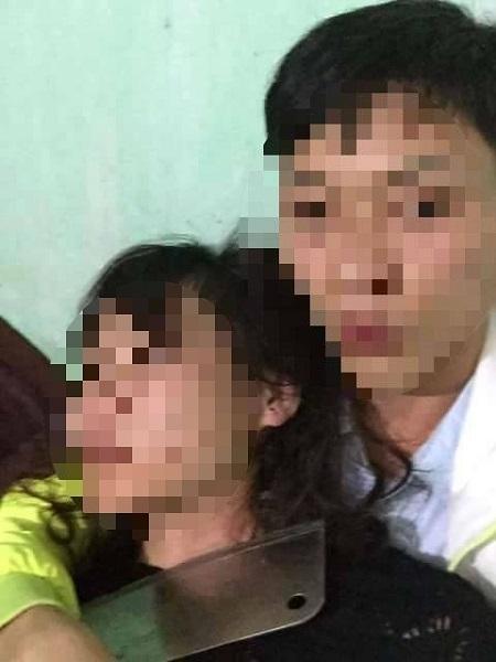 Không được cưới, nam thanh niên kề dao vào cổ người yêu cố thủ trong nhà (ảnh Facebook nam thanh niên tên Bộ).