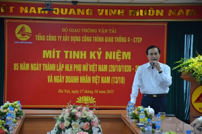 Phó Chủ tịch UBND tỉnh Nghệ An Lê Ngọc Hoa.