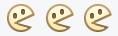 Biểu tượng Pacman (:v) cũ.