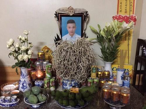 Di ảnh của anh Đỗ Mạnh Tùng con trai bà Miên. (Ảnh gia đình cung cấp).