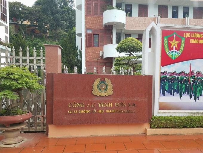 Trụ sở Công an tỉnh Sơn La.