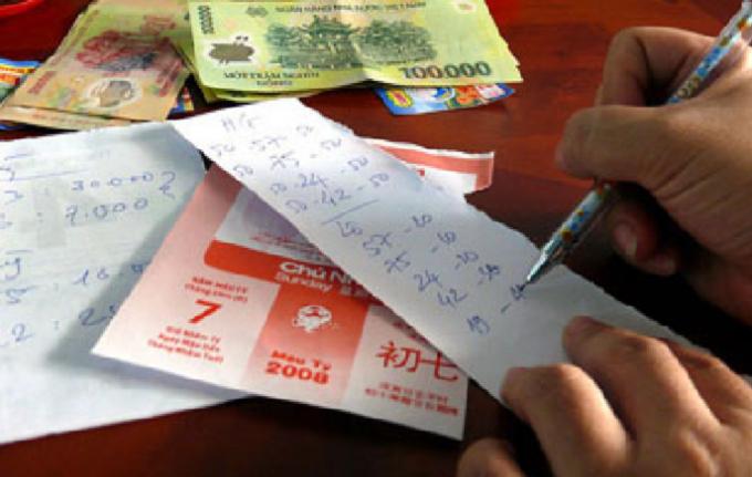 Đường dây lô đề do nữ Bí thư phường điều hành cùng chồng lên đến 4 tỷ đồng.