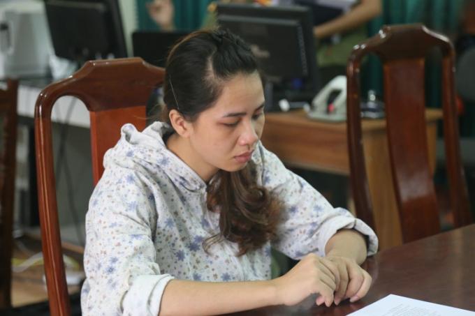 Nữ công nhân tung tin đồn thất thiệt bắt cóc trẻ con Hoàng Thị Liễu.