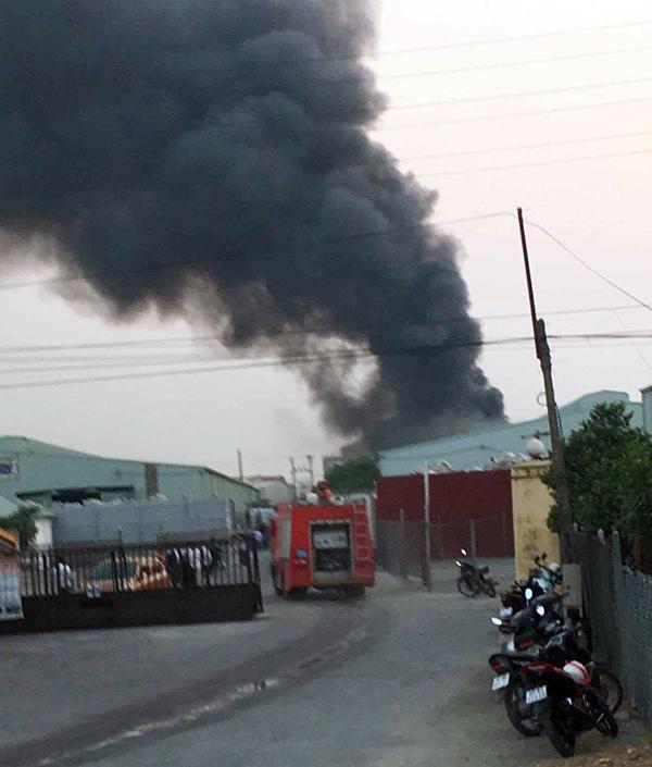 Hiện trường vụ hỏa hoản.