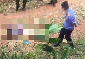 Thi thể người phụ nữ được phát hiện ở khu vực gần Bệnh viện Quân y 91 Thái Nguyên.