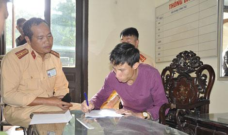 Đối tượng Trần Tiến Phương.