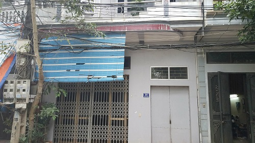 Căn nhà nơi ông Xuân sinh sống đến khi tử vong.