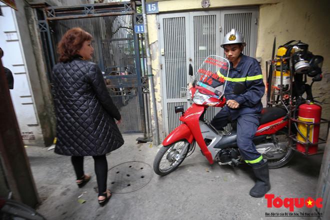 Những chiếc xe chữa cháy mini có thể cơ đông trong những con phố nhỏ đặc biệt là khu phố cổ Hà Nội