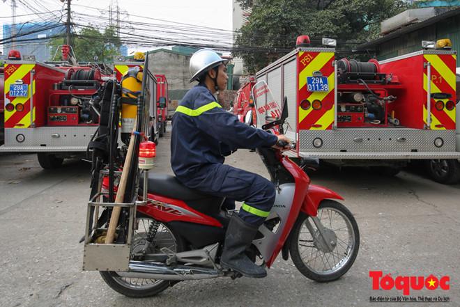 Với những chiếnxe máy chữa cháy minivà những trang thiết bị hiện đại cùng với ý thức PCCC của người dân sẽ giảm thiểu được những vụ hỏa hoạn trong thời gian tới.