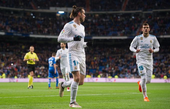 Bale mở tỷ số trận đấu.