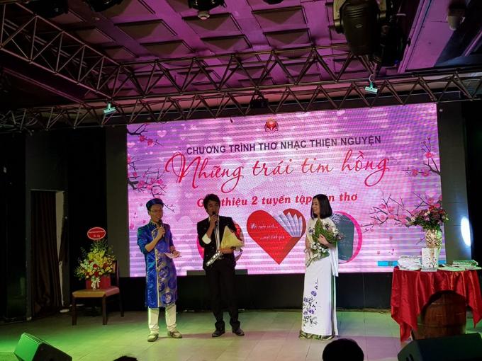 Nhà thơ Lương Đình Khoa trò chuyện cùng 2 ca sĩ Bùi Ngọc Liên - Từ Như Tài.
