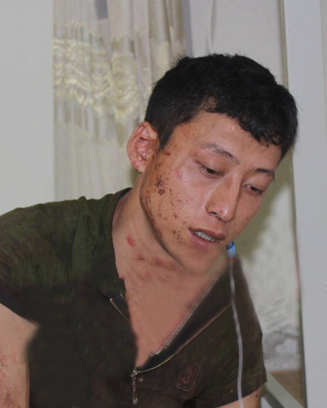 Đối tượng Lý Đình Khánh bị bắt giữ tại cơ quan Công an.