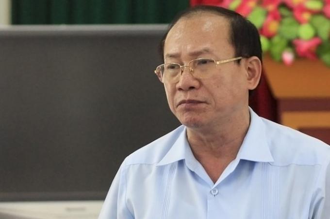 Ông Tống Duy Hiến - Phó Chánh thanh tra Bộ GDĐT cho biết hiện chưa phát hiện ra sai phạm của thanh tra chấm thi . Ảnh: Văn Phú