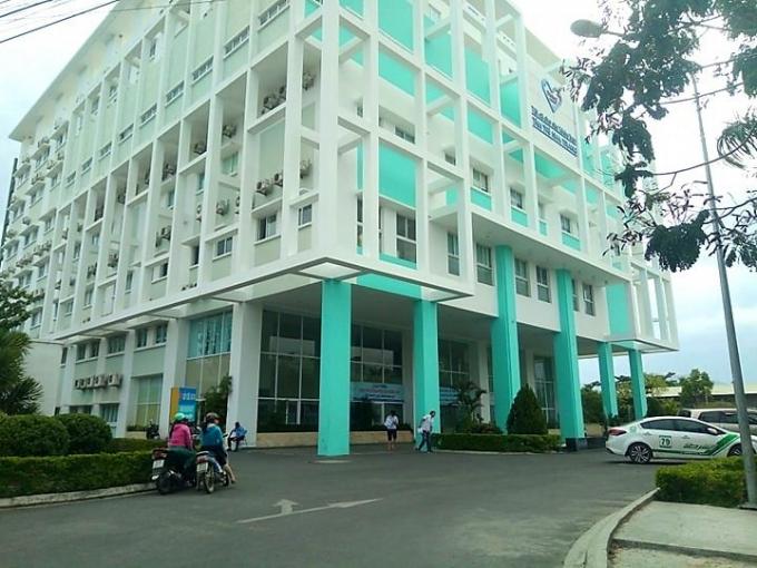 Bệnh viện Đa khoa Tâm Trí Nha Trang, nơi xảy ra vụ nam điều dưỡng hiếp dâm nữ bệnh nhân.