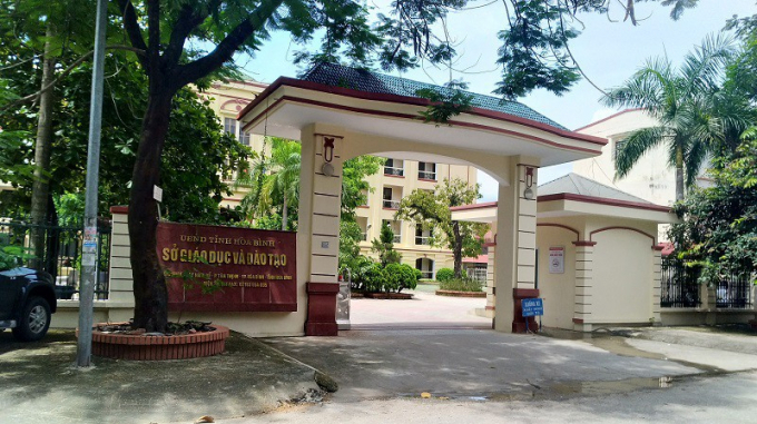 Công an tỉnh Hòa Bình đã khởi tố vụ án gian lận điểm thi.