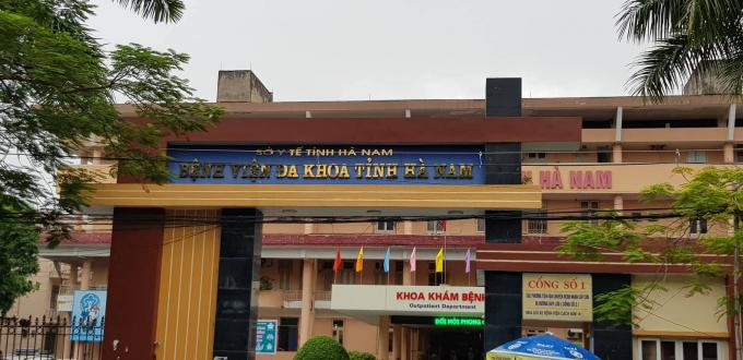 Bác sỹ Trịnh Thị Hòa, PGĐ Trung tâm Y tế huyện Thanh Liêm cho biết: