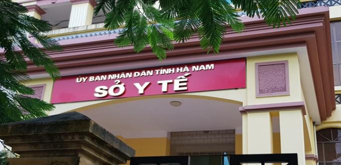 Sở Y tế tỉnh Hà Nam.