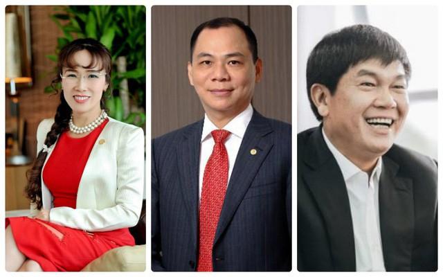 Ba tỷ phú USD giàu nhất Việt Nam bị sụt giảm mạnh tài sản do chứng khoán giảm sâu