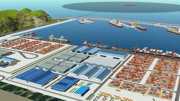 Phối cảnh dự án nhà máy lọc hóa dầu Vũng Rô.